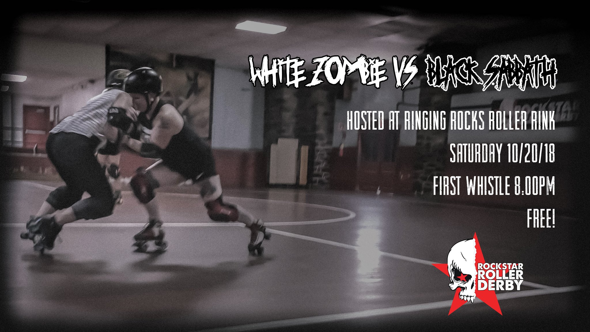 White Zombie VS Black Sabbath - Sat Night Scrimmage 10/20
