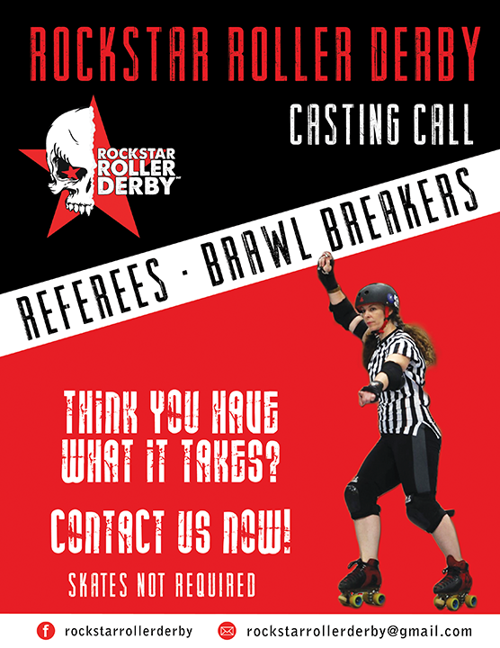 Refs and Brawl Breakers Needed!
